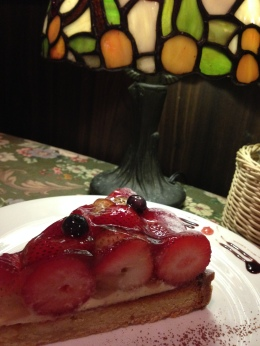 Ma Maison Strawberry Tart
